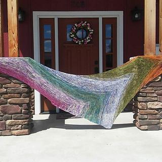 fade shawl